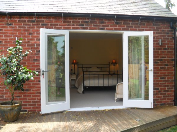 French Doors onto the Decking